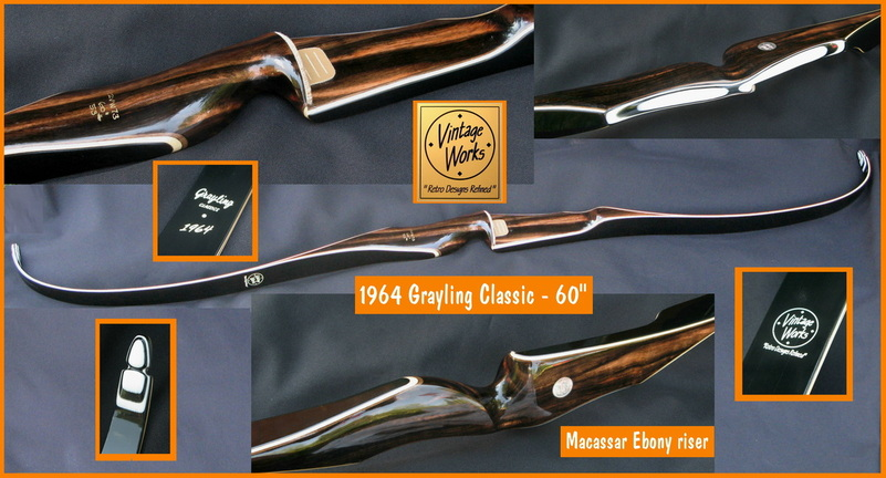 1964 Grayling Classic Vintage Works Bows